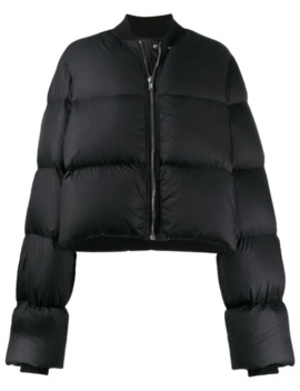 Cropped Puffer Jacket by Rick Owens
