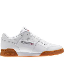 Reebok Workout Plus White Gum by Stock X