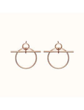 Loop Earrings, Small Model by Hermès