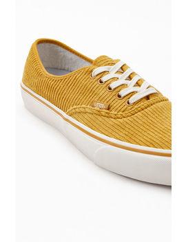 Vans Corduroy Authentic Sf Shoes by Pacsun