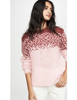 Maggie Mohair Pullover by Custommade