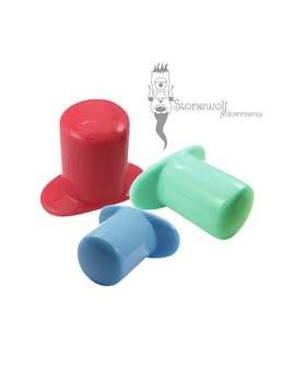 Opaque Glas Runde Labret Mit T Back   Wahl Der Farbe Für Gestreckte Lippenpiercings Stein Stecker Auf Bestellung Gefertigt by Etsy