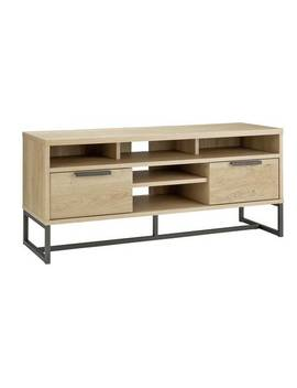 Argos Home Nomad 2 Drawer Tv Unit   Light Oak Effect916/6031 by Argos