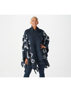Barefoot Dreams Cozy Chic Mosaic Beach Poncho by Barefoot Dreams
