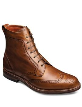 Dalton Leather Wingtip Ankle Boots by Allen Edmonds