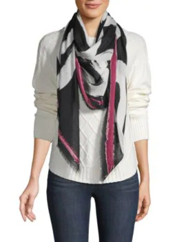 Printed Wrapaournd Scarf by Karl Lagerfeld Paris