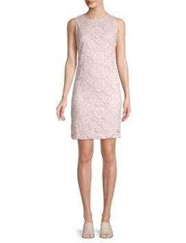 Lace Sheath Dress by Karl Lagerfeld Paris