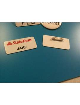Jake State Farm Costume Badge by Etsy
