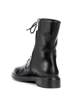 Fara Leather Ankle Boots by The Row