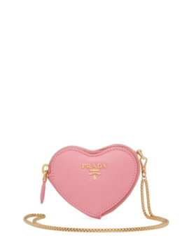 Heart Shaped Wallet On Chain by Prada
