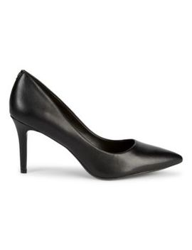 Royale Leather Pumps by Karl Lagerfeld Paris