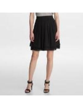 Solid Flare Skirt by Karl Lagerfeld
