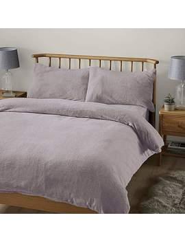 Teddy Bear Lavender Duvet Cover by Dunelm