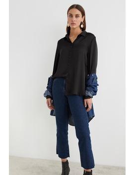 Linnea Satin Shirt by Ginatricot