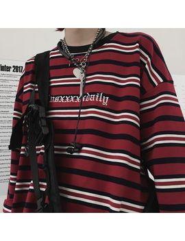 Giuliana   Striped Pullover by Giuliana