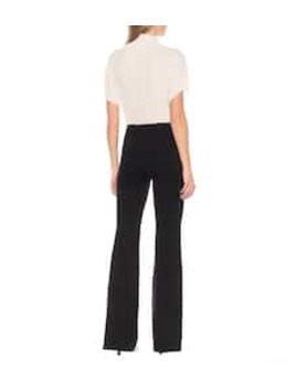 Delon High Rise Flared Pants by The Row