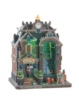 Lemax® Spooky Town® Haunted Library by Lemax