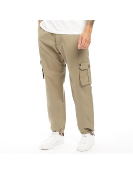 Zoo York Mens Marine Cargo Pants Dusty Olive by Zoo York