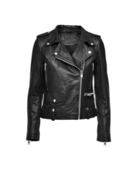 Black Seattle Leather Jacket Black Seattle Leather Jacket by Mdk