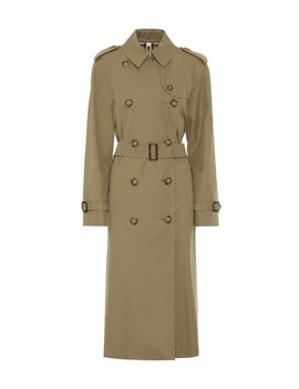 Waterloo Cotton Trench Coat by Burberry
