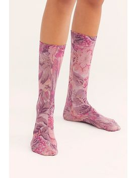 Wall Flower Knee High Socks by Free People