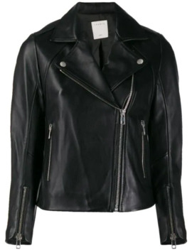 Biker Style Moto Jacket by Sandro Paris