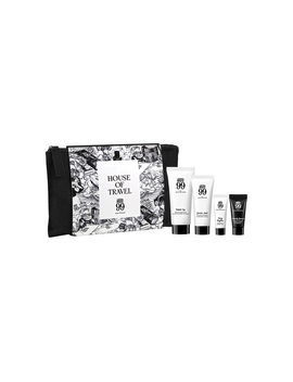 House 99 Travel Set & Pouch    Körperpflegeset by House 99 By David Beckham