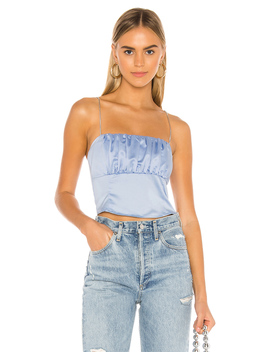 Denitza Satin Cami Top by Superdown