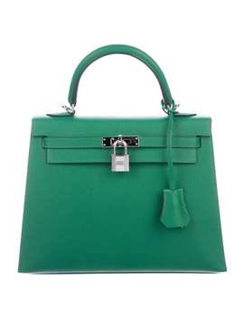 2018 Epsom Kelly Sellier 25 W/ Tags by Hermès
