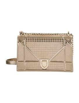 2017 Medium Micro Cannage Diorama Flap Bag by Christian Dior