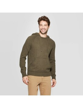 Men's Standard Fit Hooded Pullover Sweater   Goodfellow & Co™ by Goodfellow & Co