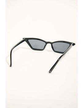 All The Angles Cat Eye Sunglasses by Free People