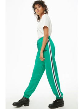 Girls Graphic Varsity Joggers by Forever 21