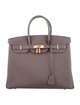 Togo Birkin 35 W/ Tags by Hermès