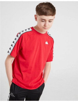 Kappa Coen Tape T Shirt Junior by Kappa