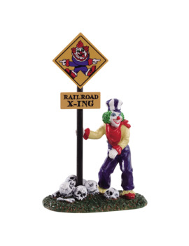 Lemax® Spooky Town® Crazy Clown Conductor by Michaels