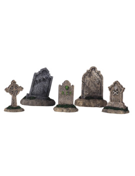 lemax-spooky-town-tombstone-set by michaels