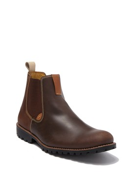 Cortino Double Gore Plain Toe Chelsea Boot by Sandro Moscoloni