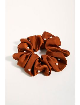 Oversize Pearl Scrunchie by Free People
