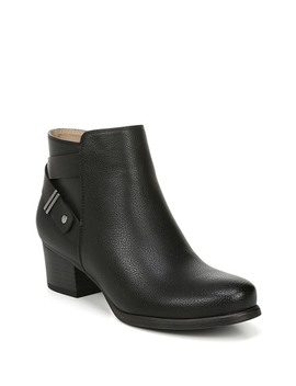 Calm Block Heel Bootie   Wide Width Available by Soul Naturalizer