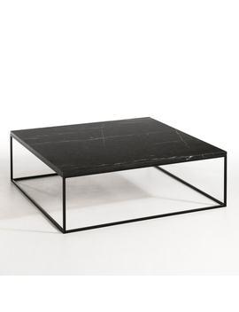 Table Basse Métal Noir Et Marbre, Mahaut by Am.Pm