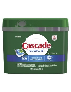 Cascade Complete Actionpacs Fresh Scented Dishwasher Detergent by Cascade