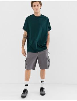 Asos Design Organic Extreme Oversized T Shirt In Green by Asos Design