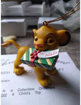 Simba Lion King Disney Christmas Magic Collection Tree Ornament by Etsy
