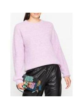 Crew Neck Knitted Jumper   Lilac by Sofie Schnoor