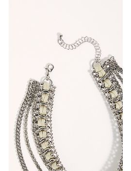 Dazie Chain Collar Necklace by Free People