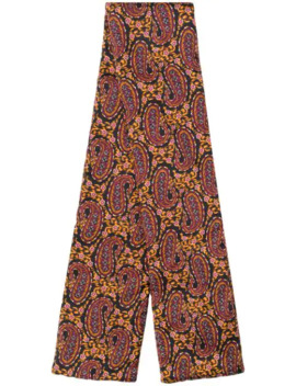 Paisley Print Scarf by Etro