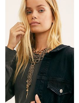 Cross My Heart Collar Necklace by Free People