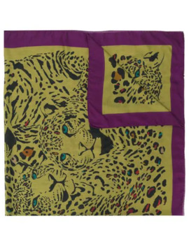 Tiger Print Scarf by Etro