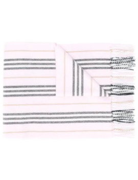 Cashmere Icon Stripe Scarf by Burberry